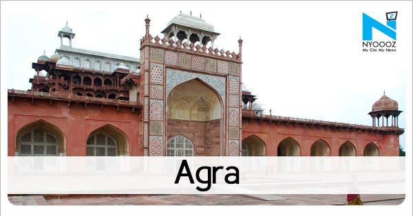 Salary for February delayed, Agra teachers mark 'Holi of corruption'