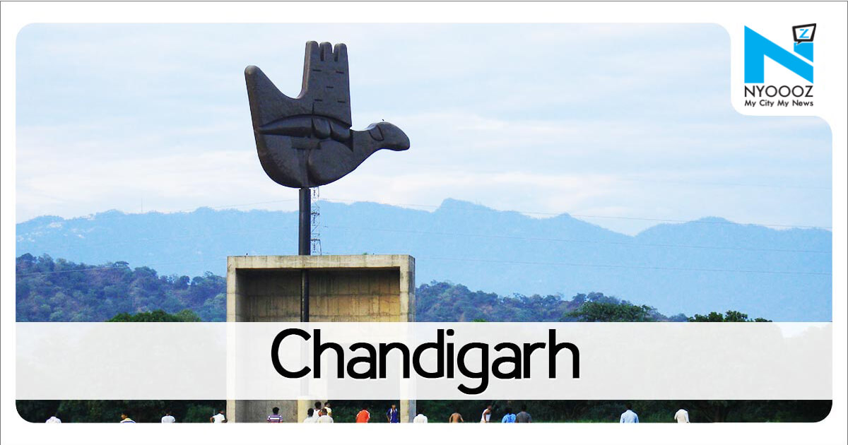 Chandigarh go down to Hyderabad