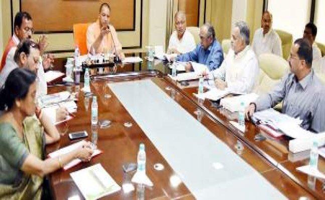 सीएम योगी ने बीजेपी की पहली कार्यसमिति बैठक का उद्घाटन किया