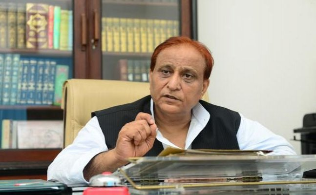 Azam khan on cow slaughtering apeals muslims to leave eating meat