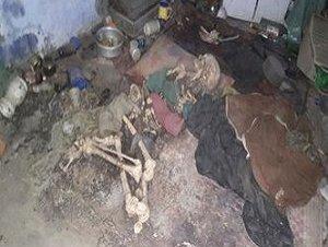 आगराः फोरंसिक टीम का दावा, 5 महीने से मां की लाश के साथ रह रही थी वीना