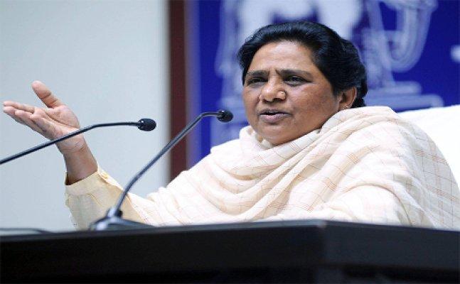 Mayawati attacks on yogi government on 100 days report card