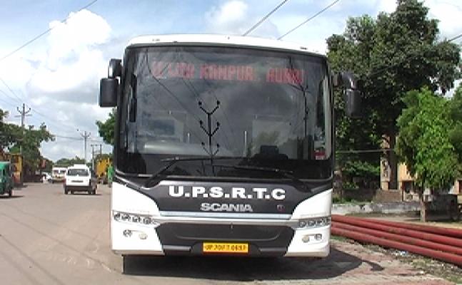 कानपुरः वॉल्वो बस में मिले 5 लाख 10 हजार के सिक्के