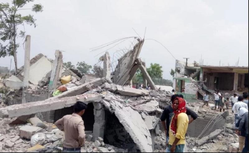 लखनऊ: काकोरी इलाके में एक घर में धमाका, 2 लोगों की मौत