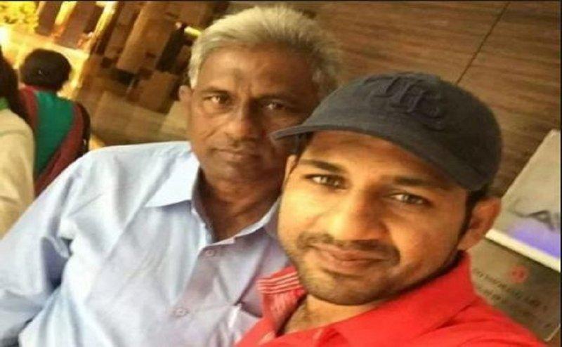 पाकिस्तानी टीम के कप्तान सरफराज अहमद के मामा चाहते हैं भारत जीते मैच