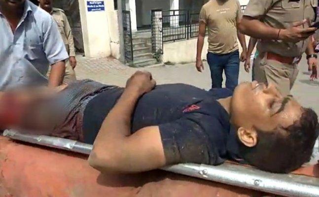 हरिद्वार में आईटीबीपी जवान से बंदूक छीनने की कोशिश में युवक को लगी गोली