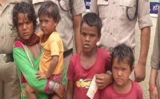 4 बच्चों को भीख मांगने के लिए हरिद्वार में छोड़ गया पिता