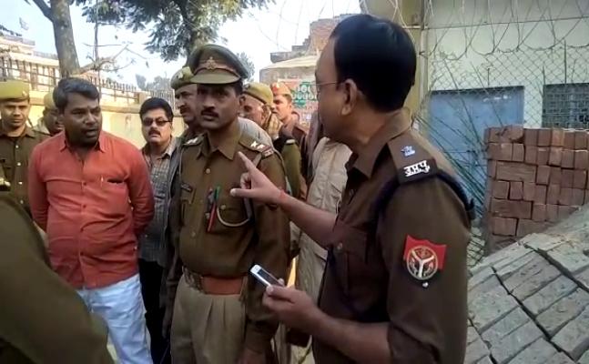 डिप्टी सीएम केशव प्रसाद मौर्य के भाई ने एसपी को दी देख लेने की धमकी