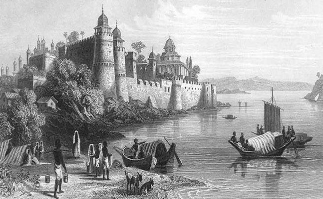 इलाहाबाद कल आज और...'अक्षयवट' की जड़ोंसे कसमसाता-घबराता सम्राट अकबर का किला