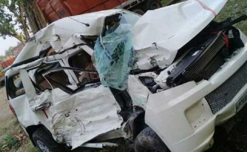 इलाहाबाद में दर्दनाक कार हादसा, 5 युवकों की मौत