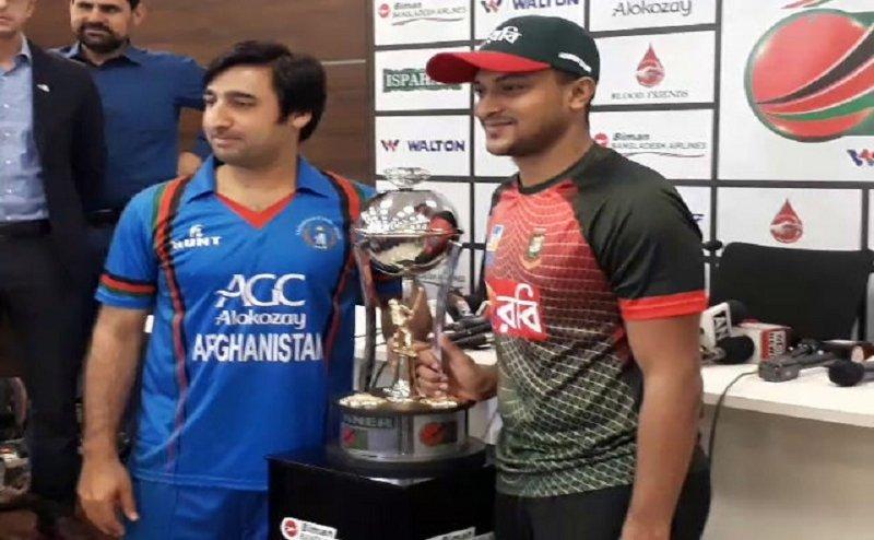 अफगानिस्तान और बांग्लादेश के बीच तीसरा टी-20 मैच आज