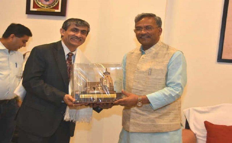 सीएम रावत ने की भारतीय राजदूत और सिंगापुर के भारतीय उच्चायुक्त से मुलाकात, ये है पूरा प्लान