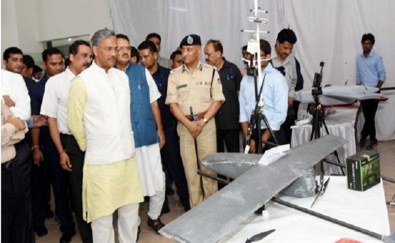 उत्तराखंड में बना भारत का पहला ड्रोन प्रशिक्षण केन्द्र, सीएम रावत ने किया उद्घाटन