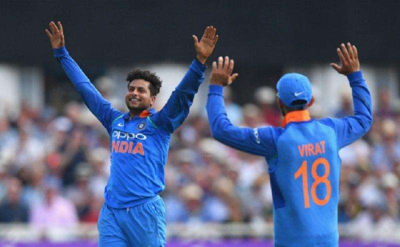 कानपुर के कुलदीप यादव का शानदार प्रदर्शन, पहले मैच में जीता भारत