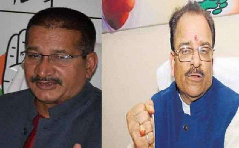 कांग्रेस नेता किशोर उपाध्याय ने अजय भट्ट को सौंपा 6 सूत्रीय मांगों का ज्ञापन