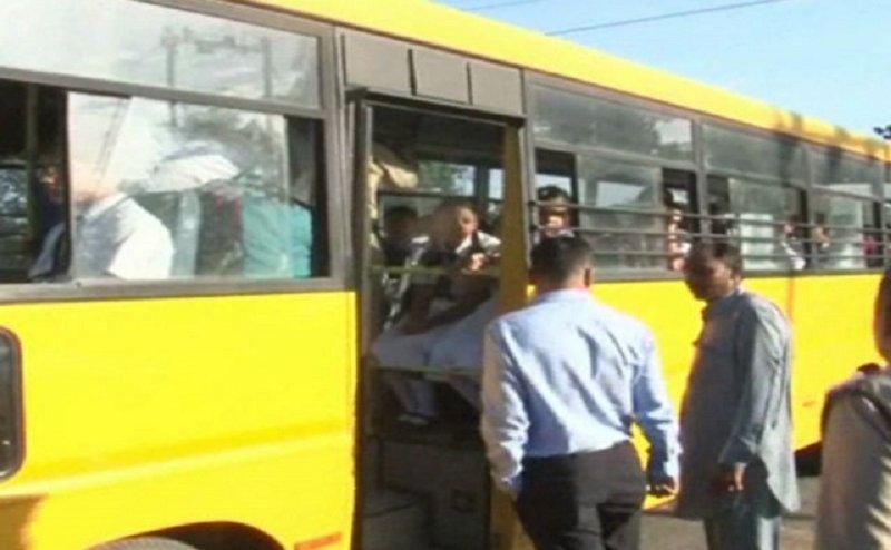 हरिद्वार प्रशासन ने स्कूली बसों पर की कार्रवाई, कई के कटे चालान