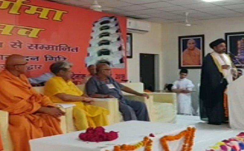 हिंदु संतों के कार्यक्रम में मौलाना ने लगाए वन्दे मातरम और जय श्री राम के नारे