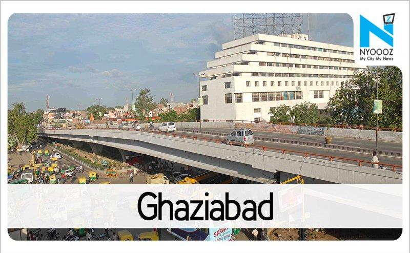 गाजियाबाद में अवैध बिल्डिंग को गिराने पहुंची जीडीए की टीम का जमकर विरोध, पुलिस बल तैनात