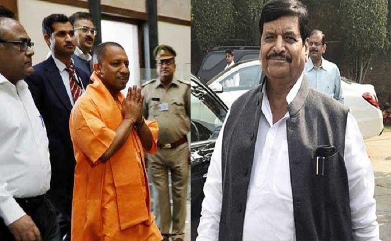 सीएम योगी से मिलकर सपा नेता शिवपाल यादव ने की ये शिकायत