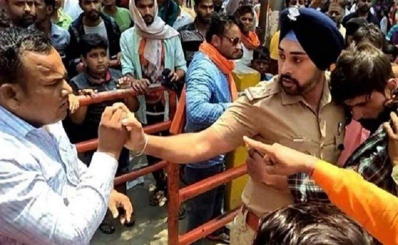 मुस्लिम युवक की जान बचाने वाले सब इंस्पेक्टर गगनदीप सिंह को मिलेगा मुख्यमंत्री पदक