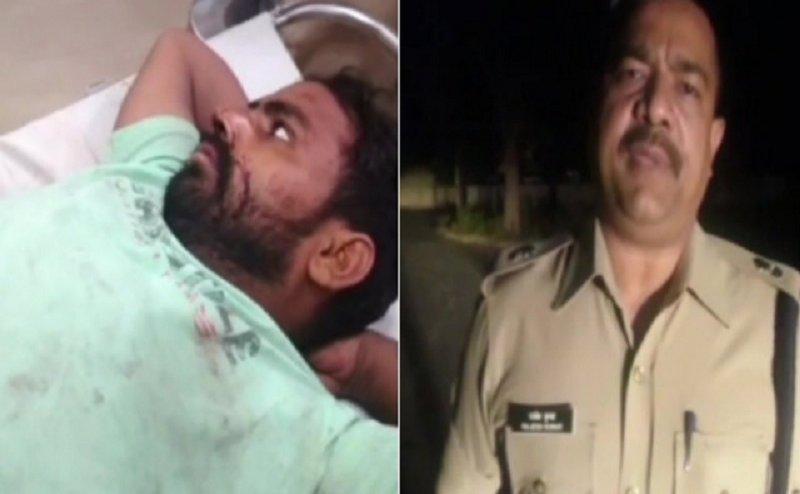 मेरठ में पुलिस एनकाउंटर में हिस्ट्रीशीटर गिरफ्तार, एक हुआ फरार
