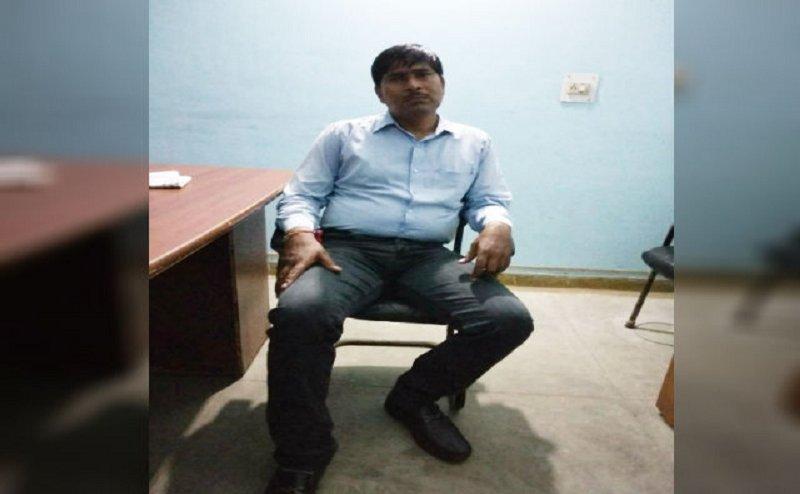 आगरा में रिश्वत लेते पकड़ा गया शिक्षक, पुलिस ने किया गिरफ्तार