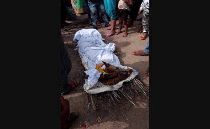 कानपुर में कुत्ते की निकली शवयात्रा, सेंगर नदी में हुआ अंतिम संस्कार