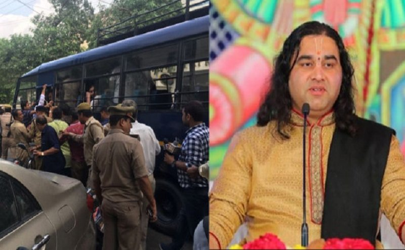 जानिए कौन हैं देवकीनंदन ठाकुर, जिन्हें आगरा पुलिस ने गिरफ्तार करने के बाद किया रिहा