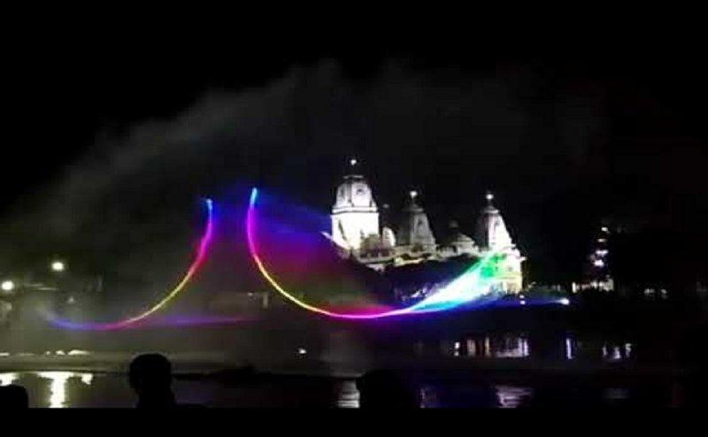 गोरखनाथ मंदिर में लेजर लाइट शो का हुआ शुभारंभ, देख और सुन सकेंगे नाथ पंथ की महिमा