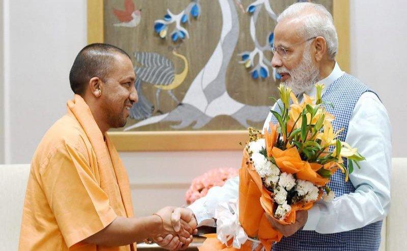 सीएम योगी ने दी पीएम मोदी को जन्मदिन की बधाई, कहा- उनके नेतृत्व में देश प्रगति के रास्ते पर