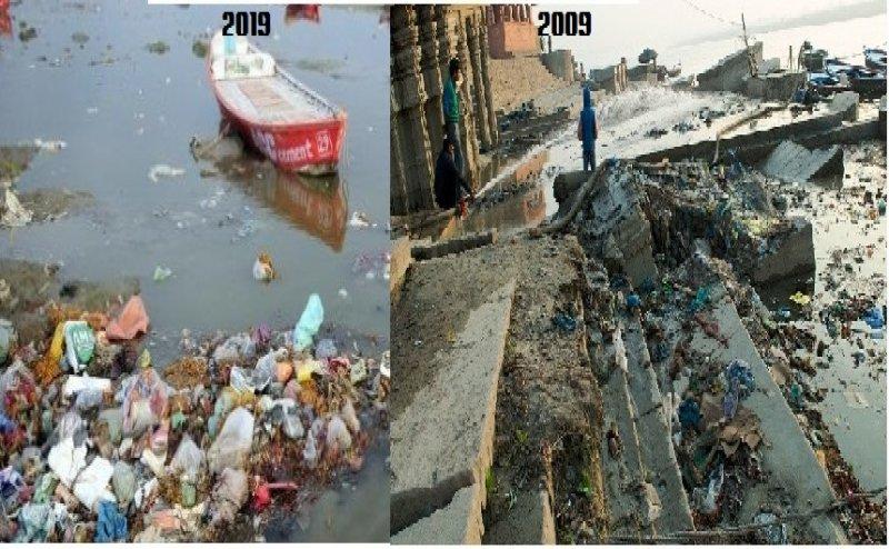 10 सालों में और भी ज्यादा गंदी हो गई है गंगा नदी