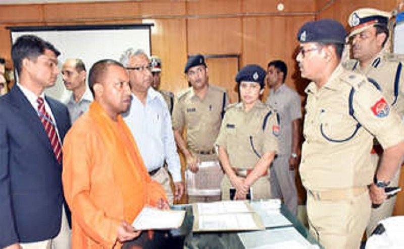 यूपी में योगी सरकार ने किया 11 आईपीएस और 50 पीपीएस अधिकारियों का ट्रांसफर