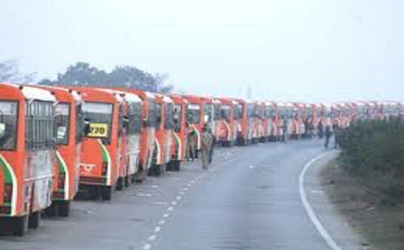 उत्तर प्रदेश परिवहन ने रचा नया कीर्तिमान,एक साथ चलाई गई 500 कुम्भ स्पेशल शटल बसें