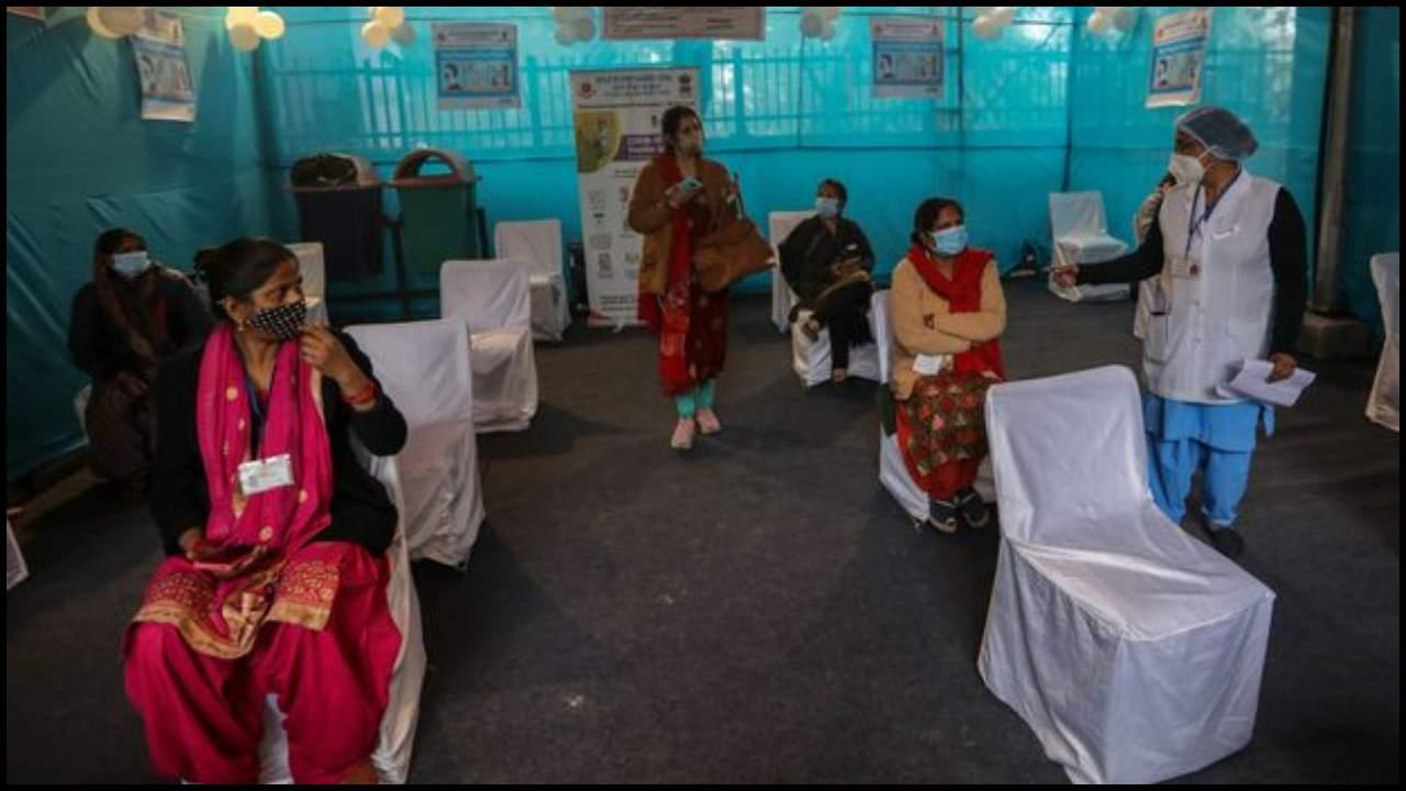 कांकेर के वैक्सीनेशन सेंटर में महिलाओं के हाथों में कमान, लगभग 200 कर्मचारी करेंगी टीकाकरण