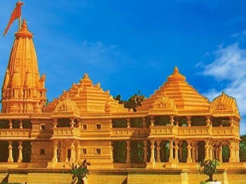 अयोध्या में हो रहे भव्य राममंदिर निर्माण को लेकर उत्साह, महाआरती में लोगों ने माहौल को बनाया राममय