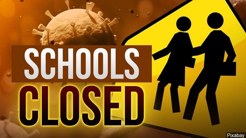 कोरोना के खतरे को देखते हुए बंद किए गए 9वीं से 12वीं तक के स्कूल
