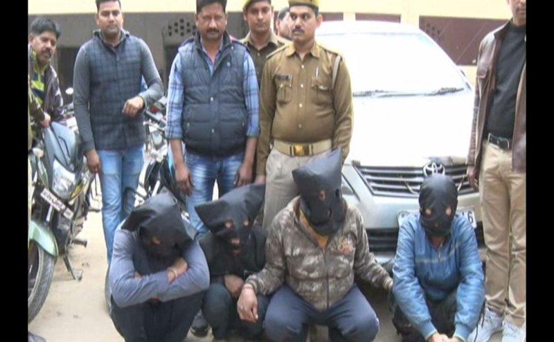 कानपुर में पुलिस ने ईरानी गैंग के चार सदस्यों को किया गिरफ्तार