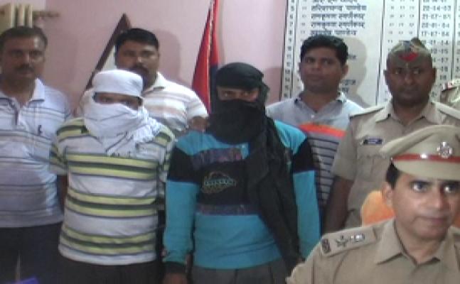 गोरखपुर GRP ने किए दो लुटेरे गिरफ्तार, रेलवे पुलिस अधीक्षक ने दिया इनाम