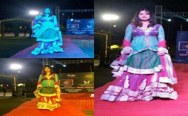 CITY STAR: अपर्णा शर्मा के सिर पर सजा 'मिस मेरठ' और 'मिस गाजियाबाद' का ताज