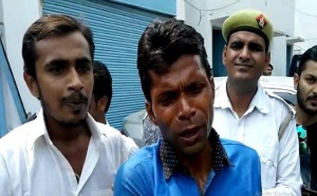 मेरठः SSP ऑफिस के बाहर पुलिस से परेशान युवक ने की आत्मदाह करने की कोशिश