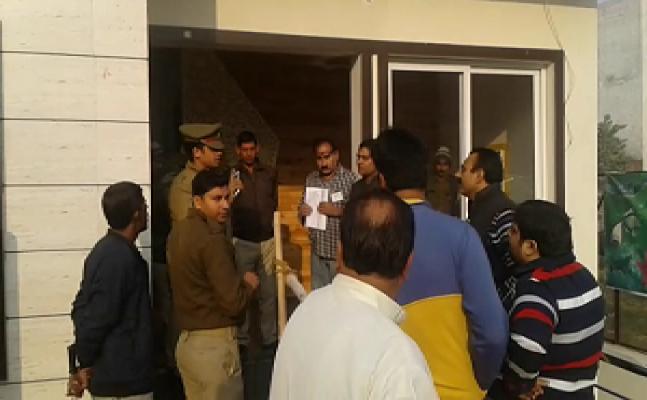 मेरठ निकाय चुनाव मतदान के दौरान हंगामा