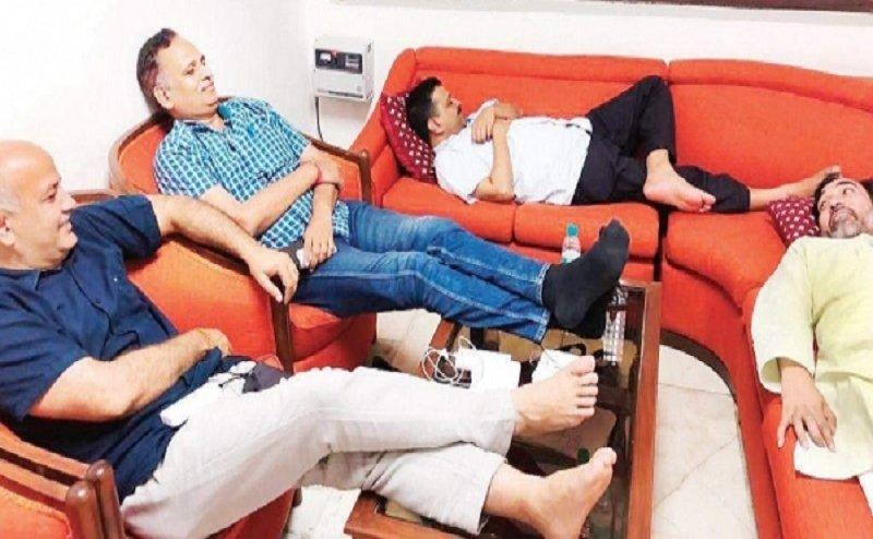 एलजी हाउस से दिल्ली के सीएम केजरीवाल ने किया वीडियो जारी, बताई अपनी 3 मांगें