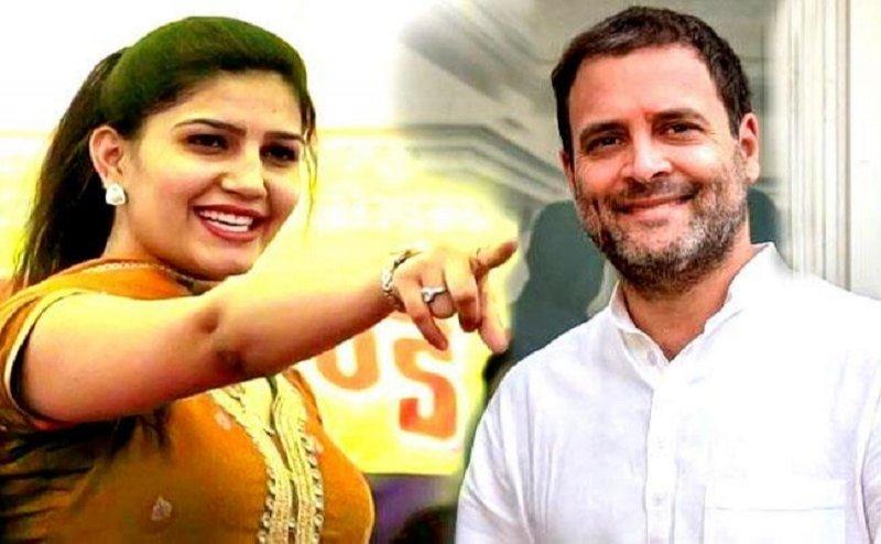 डांसर सपना चौधरी देगीं कांग्रेस का साथ, सोनिया गांधी से की थी मुलाकात