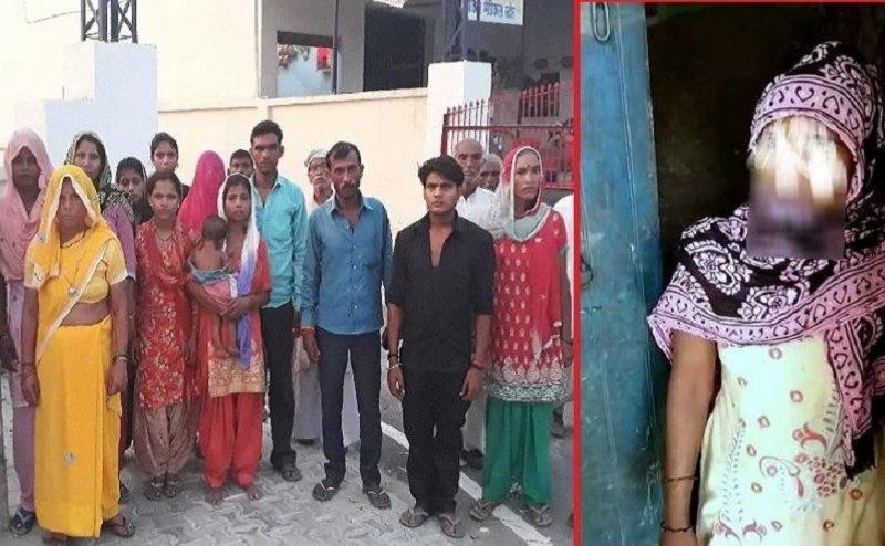 मुजफ्फनगर: महिला और युवक की पेड़ से बांधकर पिटाई, अवैध संबंधों का आरोप