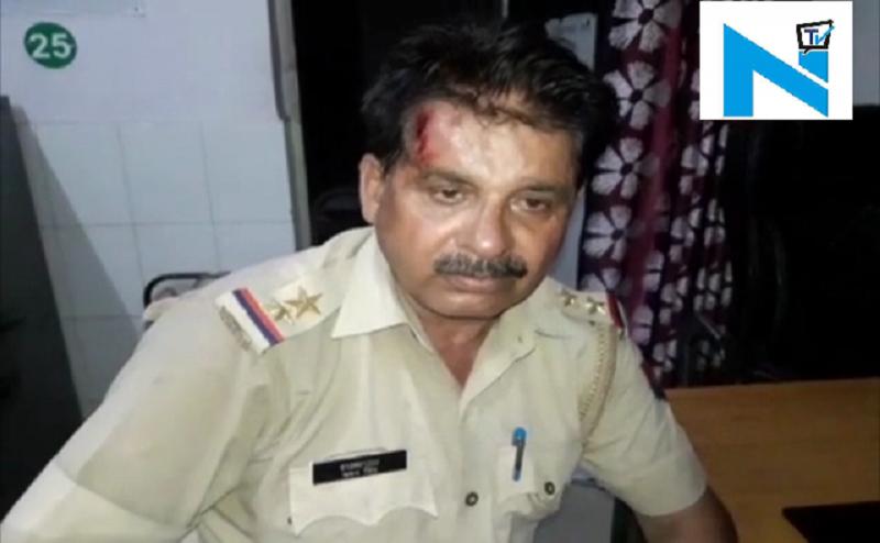 बागपत: सिपाही ने किया दरोगा के सिर पर वार, अस्पताल में भर्ती