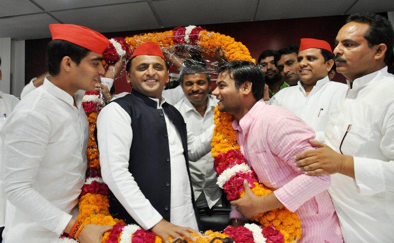 आगरा में बोले अखिलेश यादव, बीजेपी सबसे बड़ी जातिवादी पार्टी है