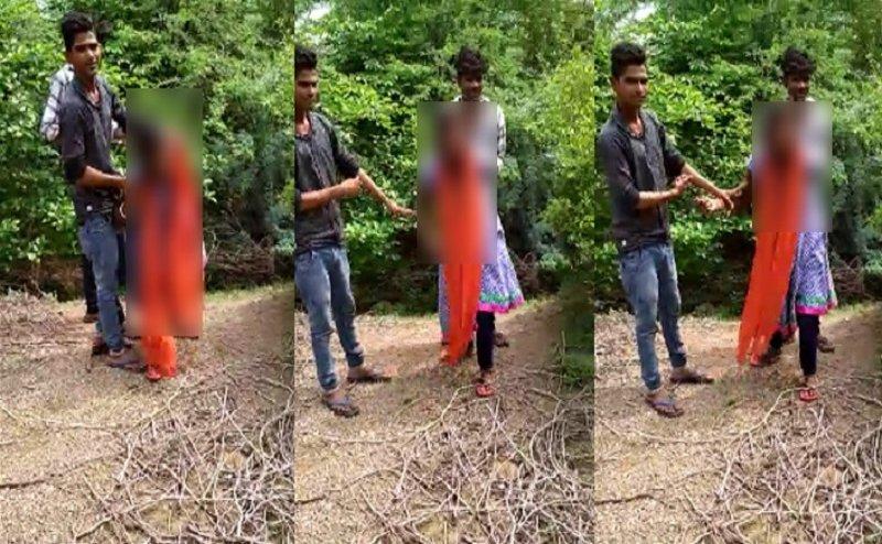 झांसी: लड़की से छेड़छाड का वीडियो वायरल होने के बाद जागी पुलिस, 3 गिरफ्तार