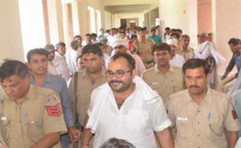 देवरिया जेल में आया कुख्यात सुनील राठी का भाई अरविंद राठी