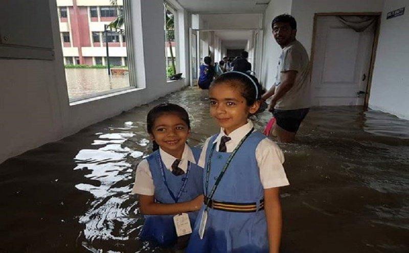 मेरठ: बारिश के चलते आठवीं तक के सभी स्कूल कल रहेंगे बंद