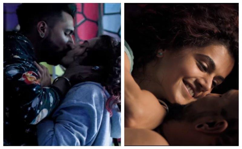 'हॉट किस' से शुरू फिल्म 'मनमर्जियां' का ट्रेलर, इंटीमेट होती नजर आईं तापसी पन्नू